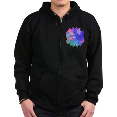 Angel of Light Zip Hoodie (dark)