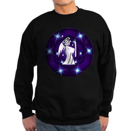 Starry Night Angel Sweatshirt (dark)