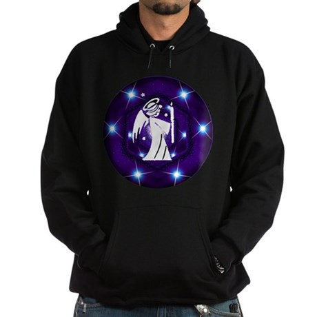 Starry Night Angel Hoodie (dark)