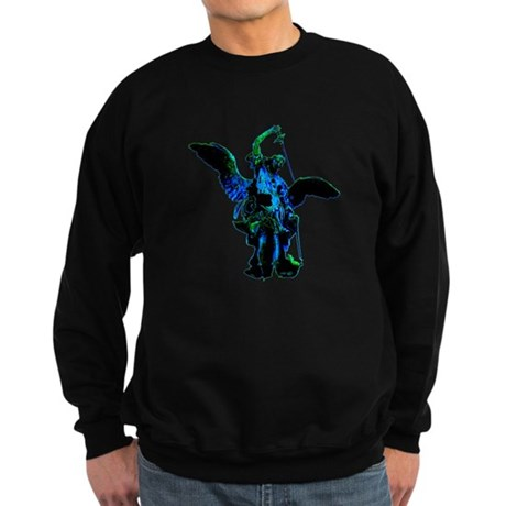 Powerful Angel - Blue Sweatshirt (dark)