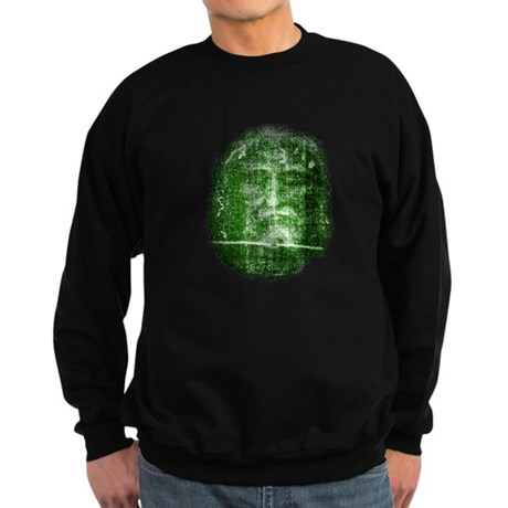Jesus - Shroud of Turin Sweatshirt (dark)