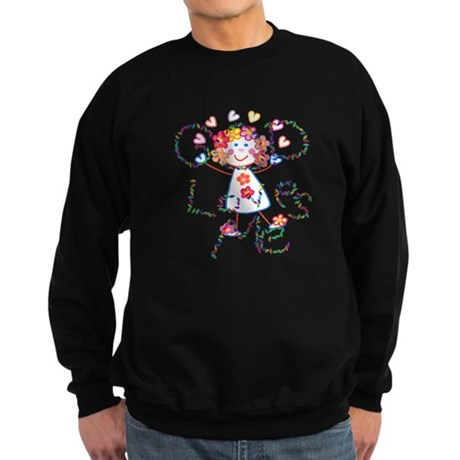God Loves Me Sweatshirt (dark)