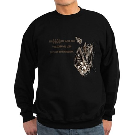 The LORD will Watch Sweatshirt (dark)