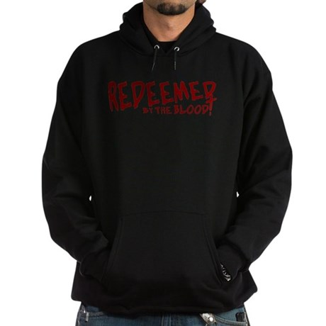 Redeemed by the Blood Hoodie (dark)