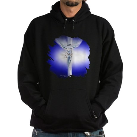 Jesus on Cross Hoodie (dark)