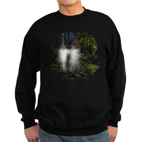 Adam and Eve Before Sweatshirt (dark)