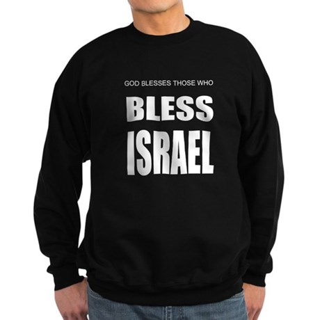 Bless Israel Sweatshirt (dark)
