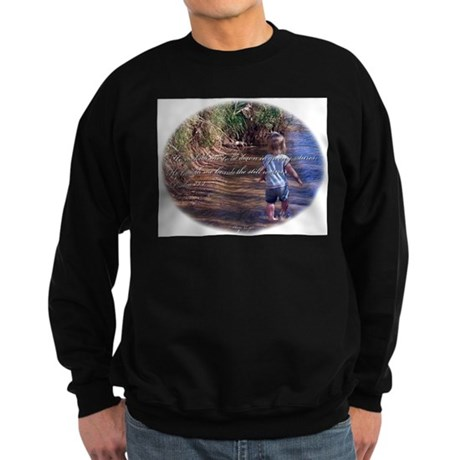 Psalms 23:2 Sweatshirt (dark)