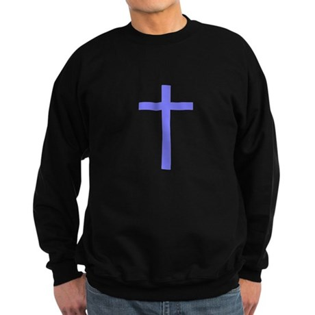 Purple Cross Sweatshirt (dark)