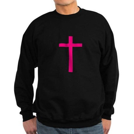 Pink Cross Sweatshirt (dark)