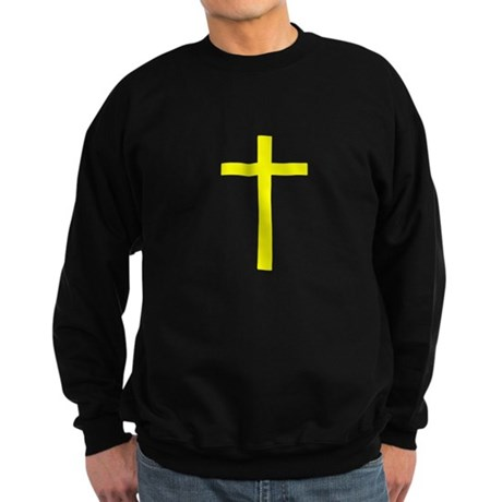 Yellow Cross Sweatshirt (dark)