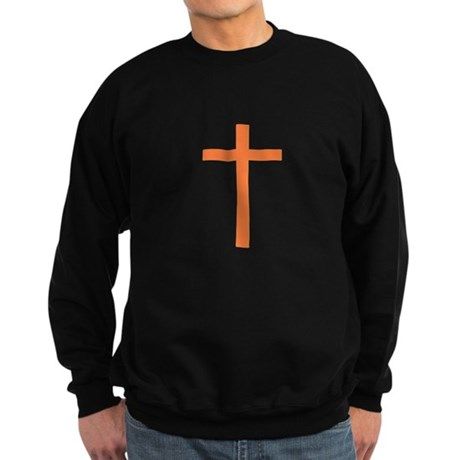Orange Cross Sweatshirt (dark)