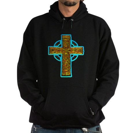 Celtic Cross Hoodie (dark)