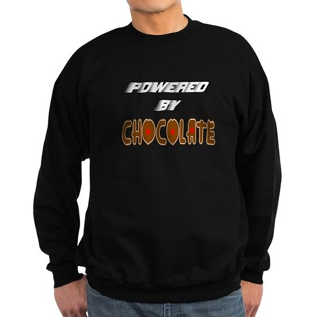 Powered by Chocolate Sweatshirt (dark)
