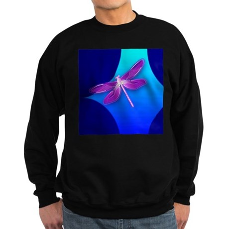 Pretty Dragonfly Sweatshirt (dark)