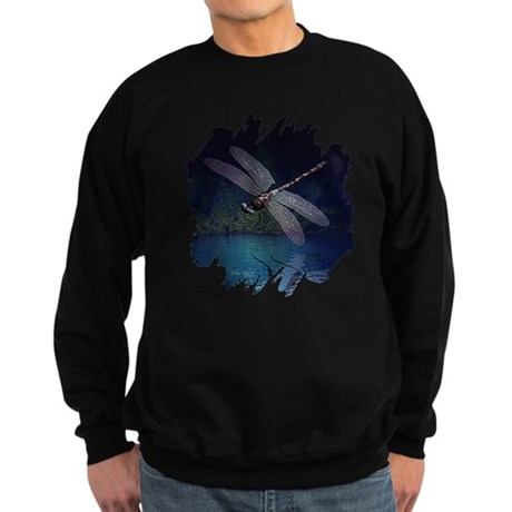 Dragonfly at Night Sweatshirt (dark)