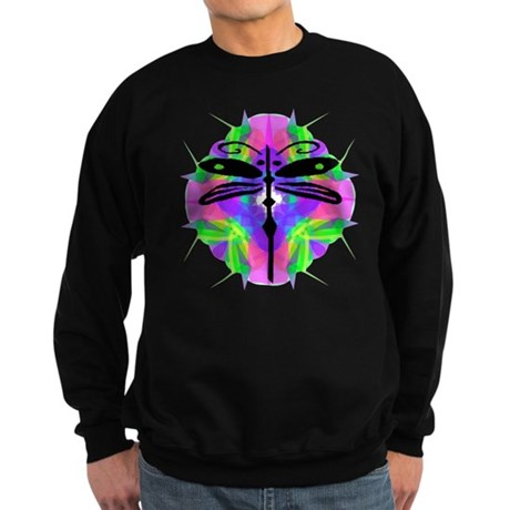 Kaleidoscope Dragonfly Sweatshirt (dark)