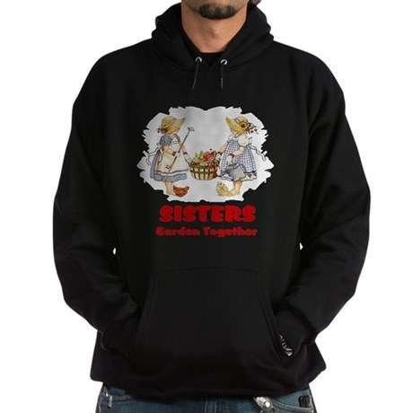 Sisters Garden Together Hoodie (dark)