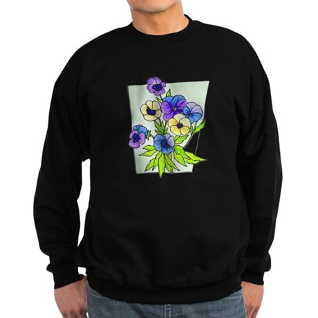 Pansy Sweatshirt (dark)