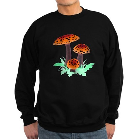 Orange Mushrooms Sweatshirt (dark)