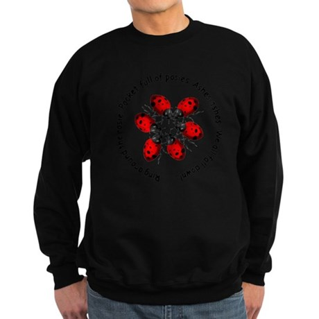 Ladybugs Playing Sweatshirt (dark)