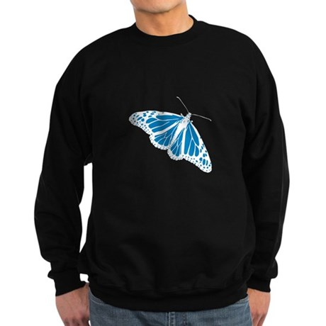 Blue Butterfly Sweatshirt (dark)