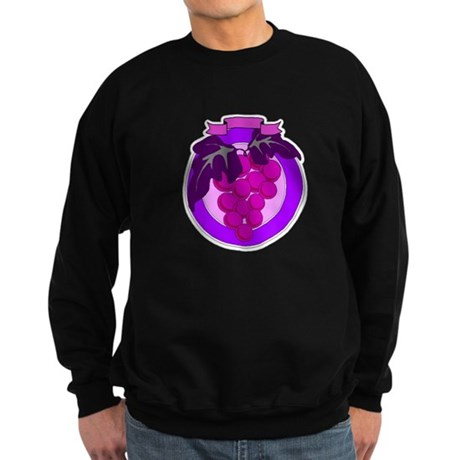 Purple Grapes Sweatshirt (dark)