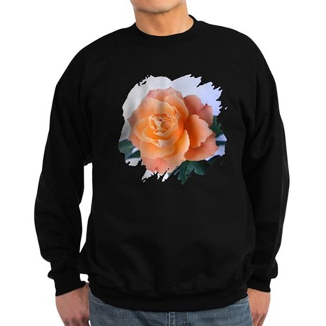 Orange Rose Sweatshirt (dark)