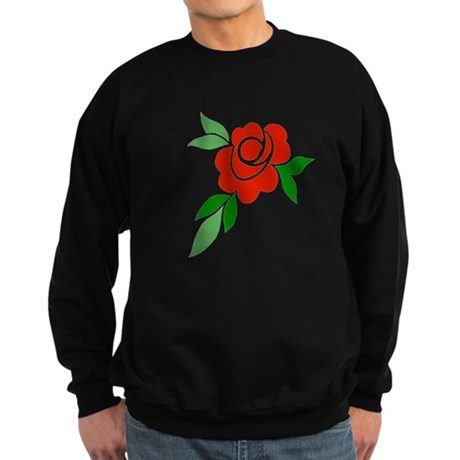 Red Rose Sweatshirt (dark)