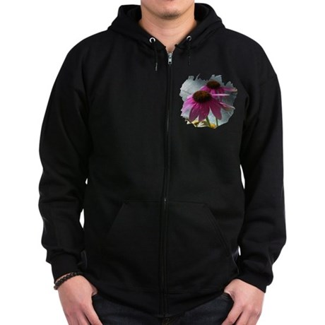 Windflower Zip Hoodie (dark)