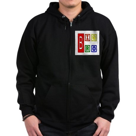 Big Brother Zip Hoodie (dark)