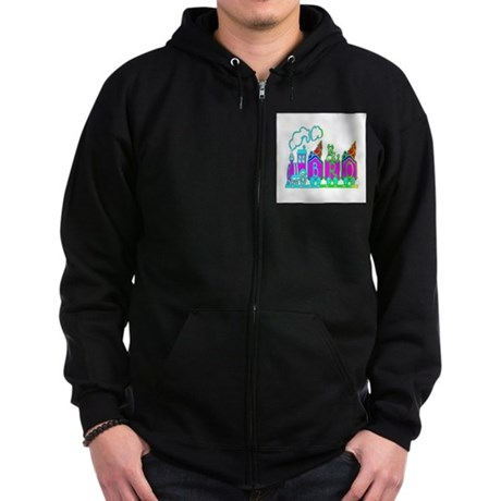 BRO Train II Zip Hoodie (dark)