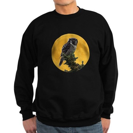 Owl and Moon Sweatshirt (dark)