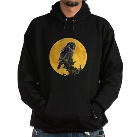 Owl and Moon Hoodie (dark)