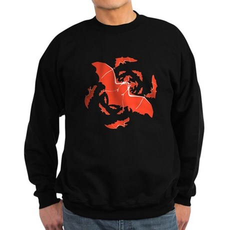 Orange Bats Sweatshirt (dark)