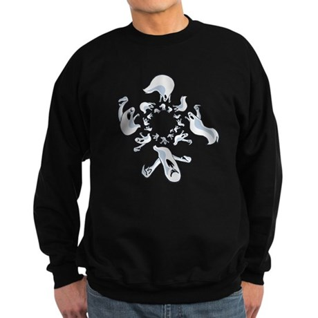 Ghosts Sweatshirt (dark)