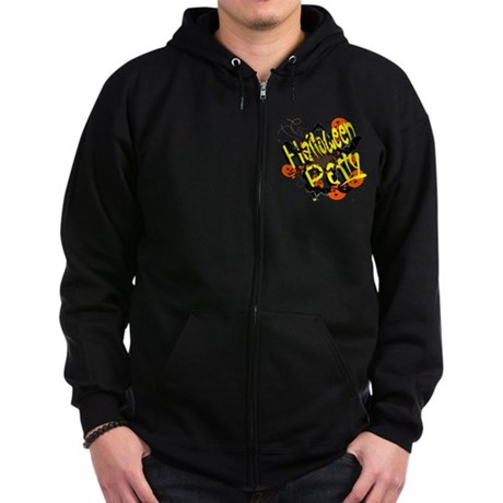 Halloween Party Zip Hoodie (dark)