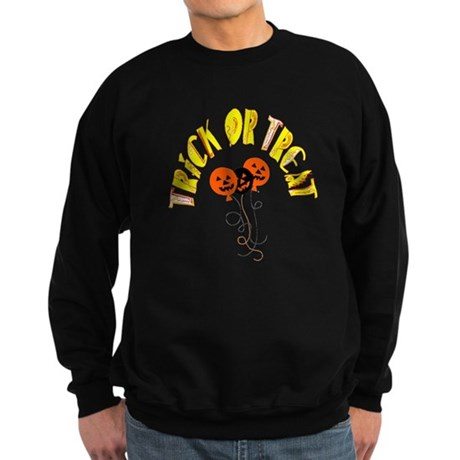 Trick or Treat Pumpkins Sweatshirt (dark)