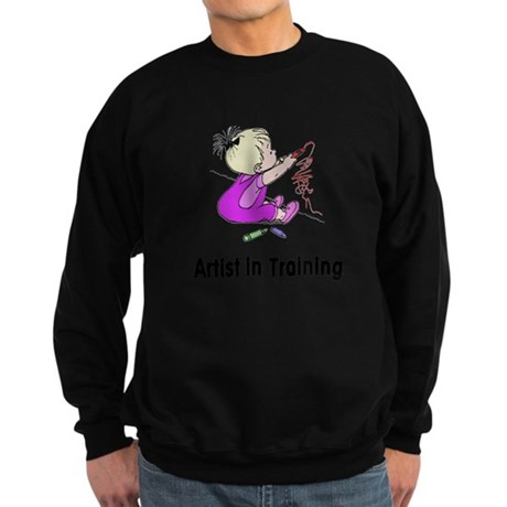 Artist in Training Sweatshirt (dark)