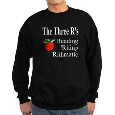 The Three R's Sweatshirt (dark)