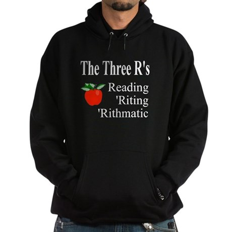 The Three R's Hoodie (dark)