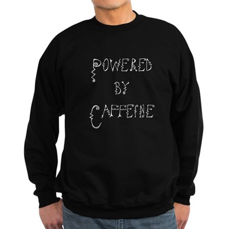 Powered by Caffeine Sweatshirt (dark)