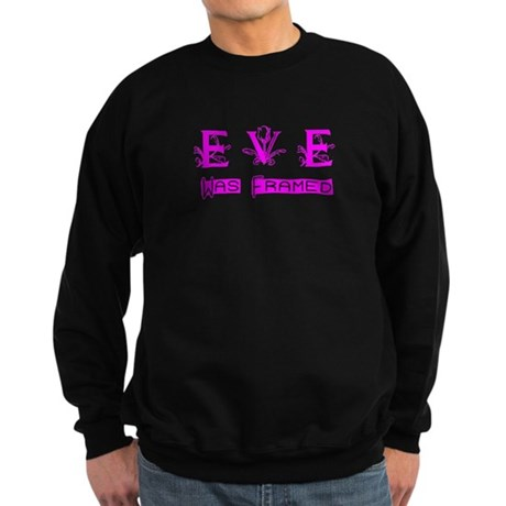 Eve was Framed Sweatshirt (dark)