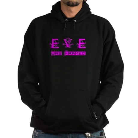 Eve was Framed Hoodie (dark)