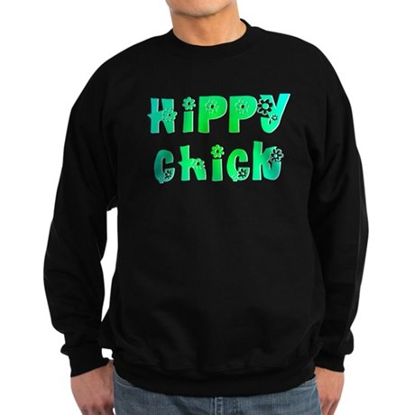Hippy Chick Sweatshirt (dark)