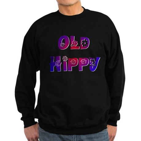 Old Hippy Sweatshirt (dark)