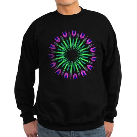 Kaleidoscope 003c Sweatshirt (dark)