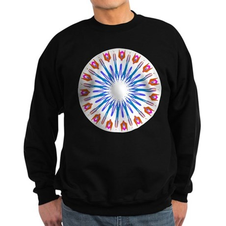 Kaleidoscope 003a Sweatshirt (dark)