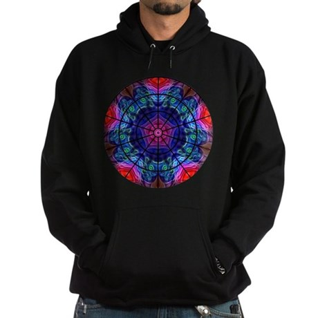 Kaleidoscope Fractal 008 Hoodie (dark)
