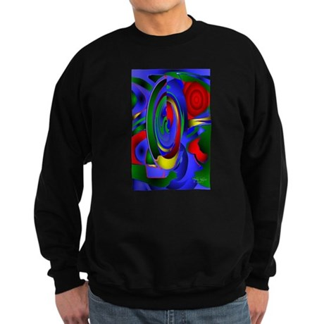 Abstract 001a Sweatshirt (dark)